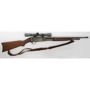 ** Remington Model 14-A Rifle with Scope