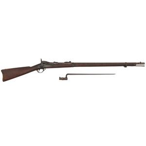 U.S. Model 1878 Trapdoor Springfield Rifle with Bayonet