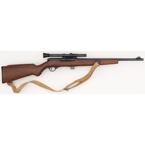 **Mossberg Model 152 Rifle with Weaver Scope