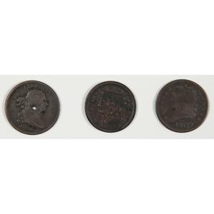 United States Half Cents 1809-1853