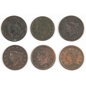 United States Large Cents 1816-1854