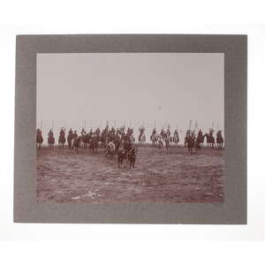 Photographs of Buffalo Bill Cody and Wild West Show Indians at Cliff House, San Francisco