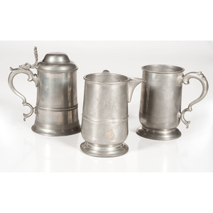 English Pewter Tankards