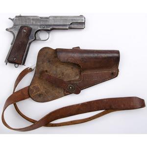** Colt U.S. Model 1911 Pistol with Holster