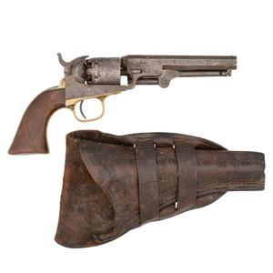Colt Model 1849 Revolver with Holster