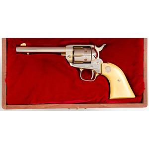 * Cased Colt Kansas Centennial Single Action Army Revolver