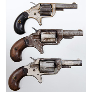 Lot of Three Colt New Line Revolvers