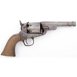 Cut Down Colt Revolver