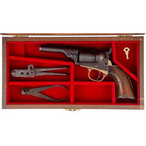 Contemporary Cased Colt Pocket Model Cartridge Revolver