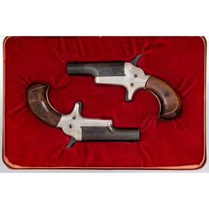 * Cased Pair of Colt Derringers