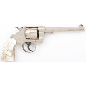 ** Colt New Army Revolver with Pearl Grips