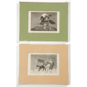 Woody Crumbo (Potawatomi, 1912-1989) Block Prints