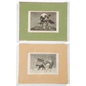 Woody Crumbo (Potawatomi, 1912-1989) Block Prints