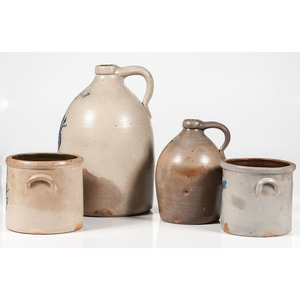 New York Stoneware Vessels, Plus