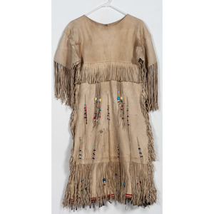 Plains Beaded Hide Dress, From the Collection of William H. Saunders, M.D. and Putzi Saunders, Ohio