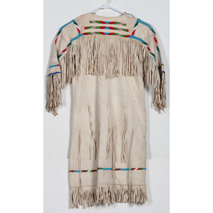 Plains Girl's Beaded Hide Dress, From the Collection of William H. Saunders, M.D. and Putzi Saunders, Ohio