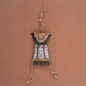Kiowa Beaded Strike-a-Light Case, From the Collection of William H. Saunders, M.D. and Putzi Saunders, Ohio