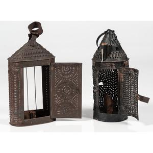 Pierced Tin Lanterns