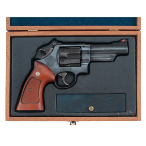 ** Cased Smith and Wesson Model 29-2 Revolver