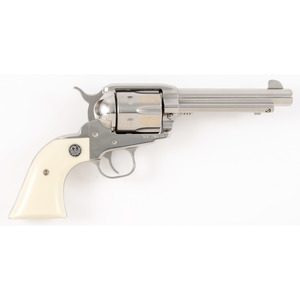 * Engraved Ruger Vaquero Revolver in Box