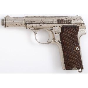 ** Astra Model 600 Pistol