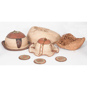 Hats and Mats from the Congo, Sold to benefit the Acquisitions Fund of the Berea College Art Collection