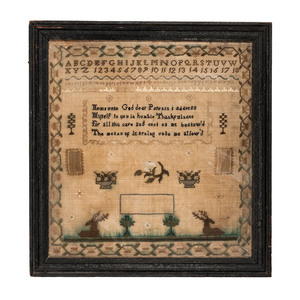 English Sampler, Mary Boon