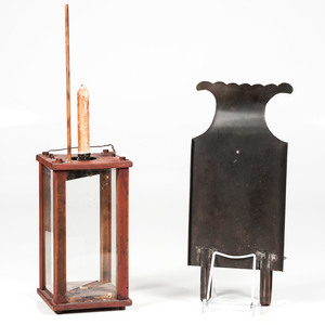 Candle Lantern and Sconce