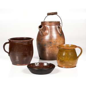 Redware and Stoneware Vessels