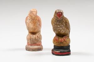 Chalkware Parrots