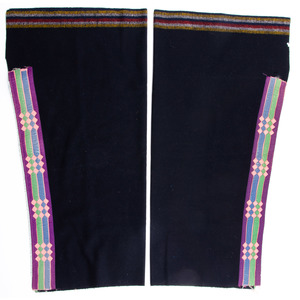 Osage Boy's Ribbonwork Wool Leggings