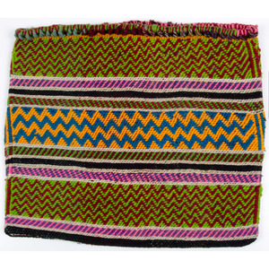 Anishinaabe Wool Storage Bag