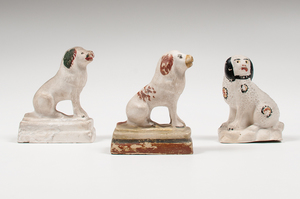 Chalkware Dogs