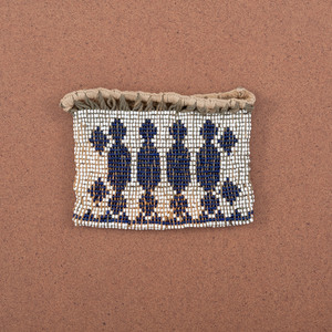 Great Lakes Loom-Beaded Charm Bag