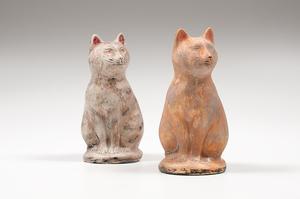 Chalkware Cats
