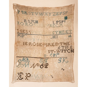 English Alphabet Sampler