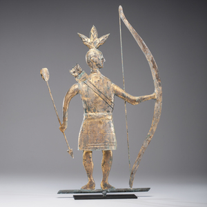 Massasoit Standing Indian Weathervane