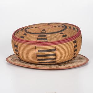 African Lidded Basket