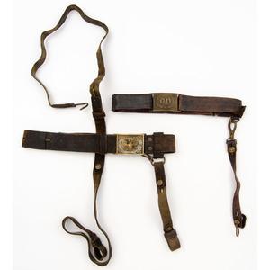 Lot of Two Sword Belts