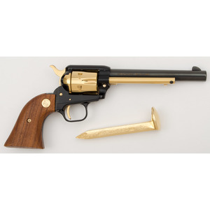 *Cased Colt Golden Spike Commemorative Single Action Army Revolver