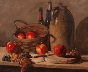 Robert Brubaker (American, 1921-2011), Oil on Canvas