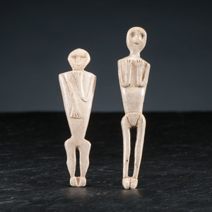 Oneida Bone Dolls, From the Collection of Jan Sorgenfrei, Ohio