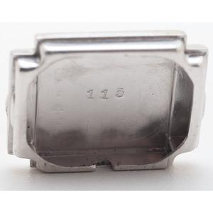 Glycine 14 Karat White Gold and Platinum Wrist Watch