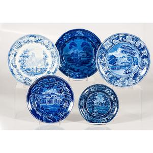 Staffordshire Transfer Plates