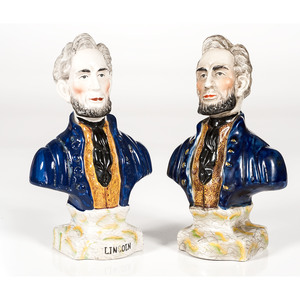 Porcelain Lincoln Busts