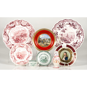 Transferware Plates and Teacup