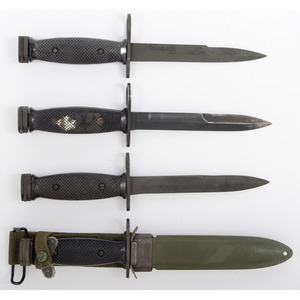 M6 Bayonet Lot from the Estate of Art Gerber, Tell City, Indiana