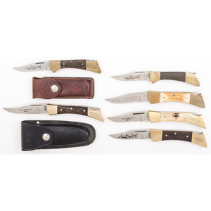 6 Case XX Pocket Knives from the Estate of Art Gerber, Tell City, Indiana