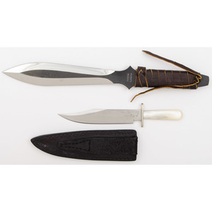 Moeller and Halloway Knives from the Estate of Art Gerber, Tell City, Indiana
