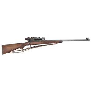 ** Winchester Model 70 Super Grade Rifle with Zeiss Scope in Griffin & Howe Mounts